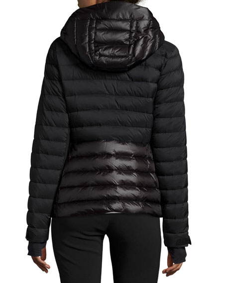 7da21ae8cd34 Moncler Quilted Matte   Shiny Puffer Coat