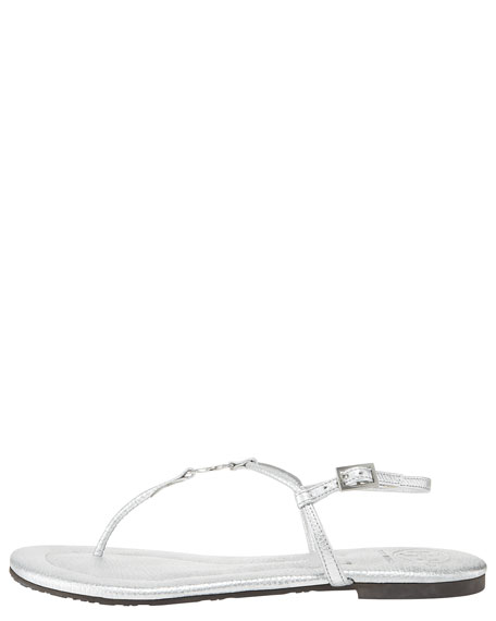 Emmy Metallic Thong Sandal