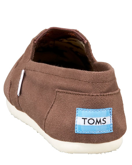 Classic Canvas Slip-On, Chocolate