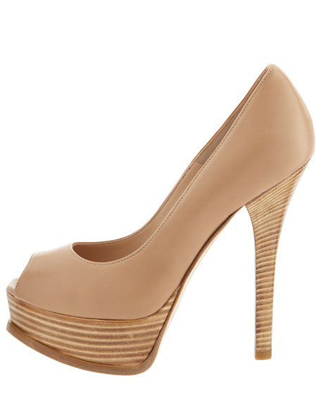 Fendista Napa Peep-Toe Pump