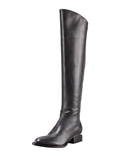 Sigrid Back-Zip Knee Boot