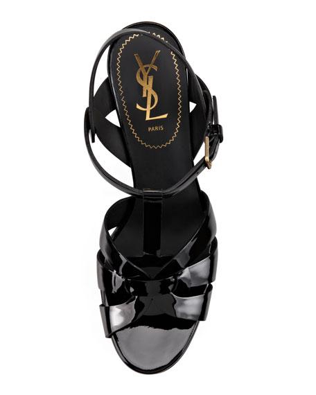 "Tribute Patent Sandal, 4"" Heel"