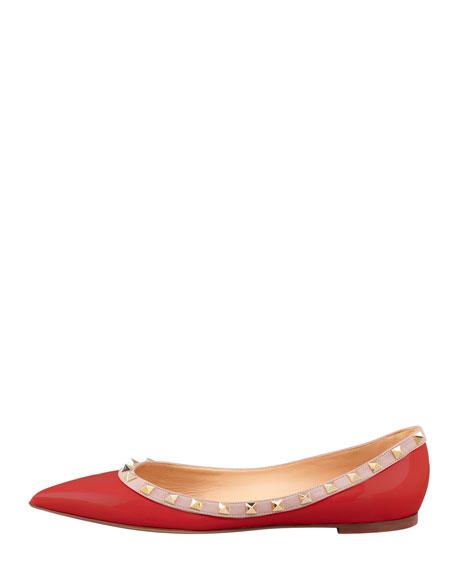 Studded Ballerina Flat