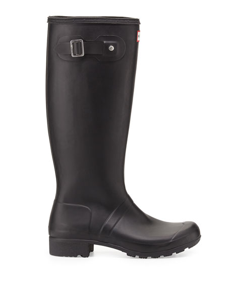 Original Tour Buckled Welly Boot, Black