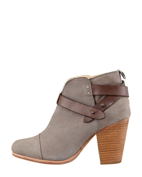 Harrow Nubuck Ankle Boot, Gray