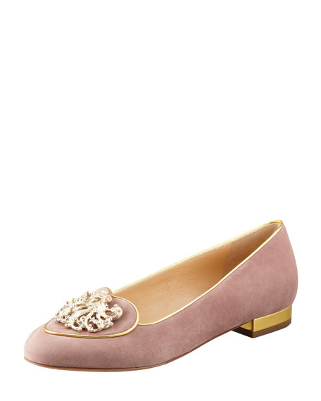 Birthday Virgo Zodiac Smoking Slipper, Beige