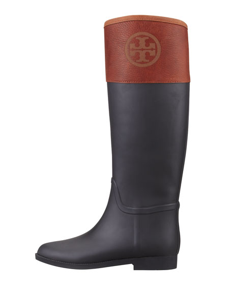 fb2c48d7bb9a Tory Burch Diana Rubber Riding Boot