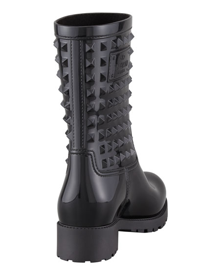 Rockstud Rubber Rain Boot