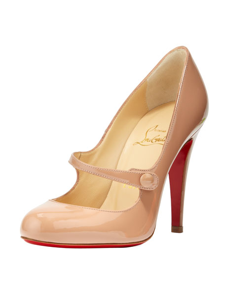 louboutin mary jane pump