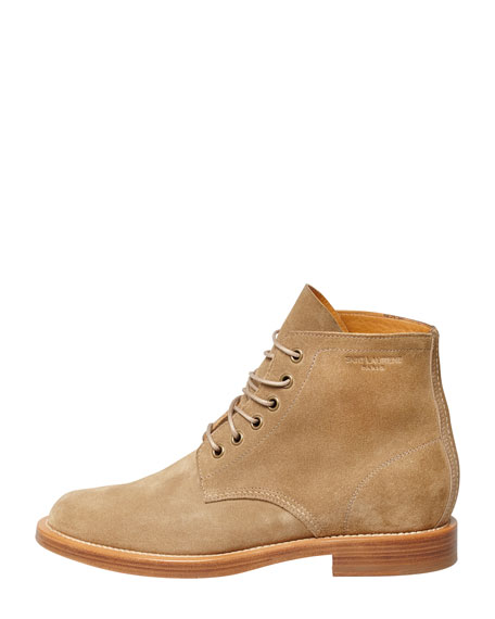Rangers Suede Lace-Up Boot, Sand
