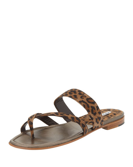 choice for sale Manolo Blahnik Suede Thong Sandals marketable cheap online cheap high quality sale cost 2014 new cheap online yLLRUW