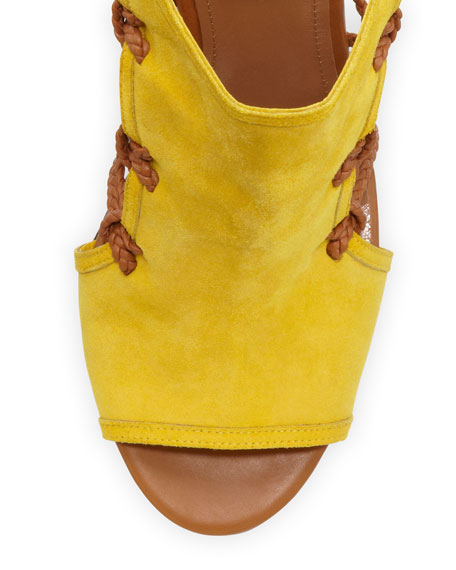 Sahara Tie-Back Ankle Bootie