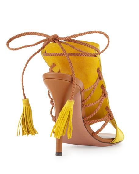 Sahara Tie-Back Ankle Bootie
