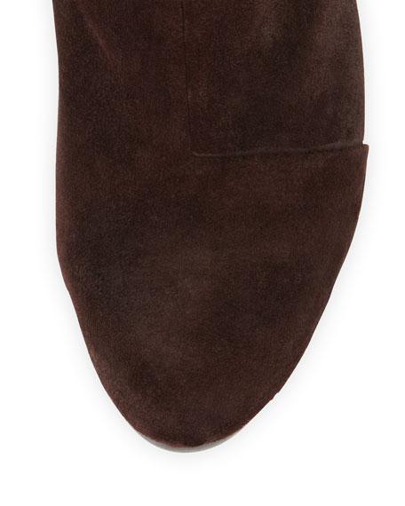 Newbury Classic Suede Boot, Burgundy