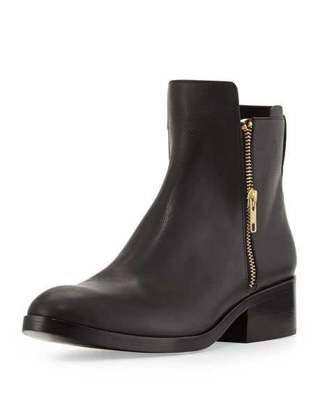 4247478f5bcdc 3.1 Phillip Lim Alexa Zip Leather Ankle Bootie