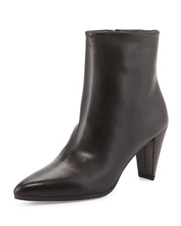 Stuart Weitzman Apollo Napa Ankle Boot, Black