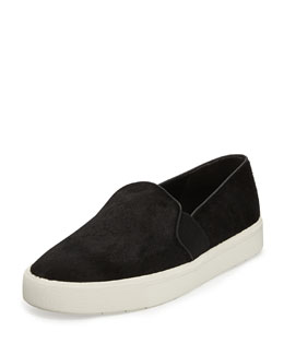 Vince Berlin Calf Hair Skate Shoe, Black