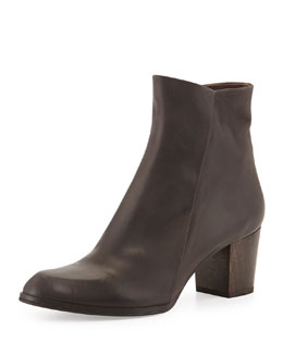 Coclico Adrienne Leather Ankle Boot, Ringo Smudge