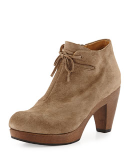Coclico Nanette Suede Ankle Boot, Country Flint