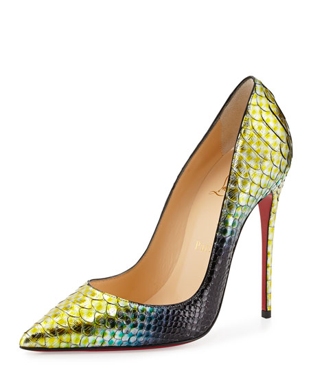 5977291cc22 So Kate Python Mermaid Red Sole Pump Mimosa
