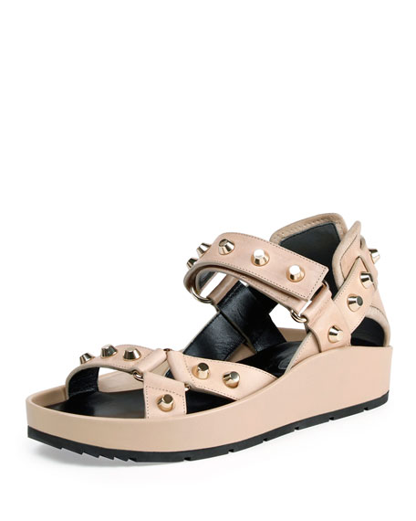 Balenciaga Leather Studded sandals new arrival online outlet websites shop for online footlocker finishline cheap price clearance Cheapest PqjRgGjsFa