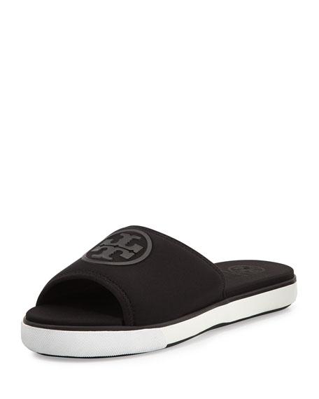 674b028c419c9 Tory Burch Neoprene Logo Slide Sandal
