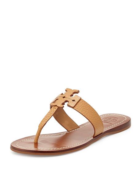 Moore Leather Thong Sandal, Royal Tan