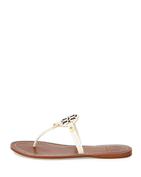 acff377e93994 Tory Burch Mini Miller Leather Flat Thong Sandal