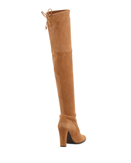 Highstreet Suede Over-the-Knee Boot
