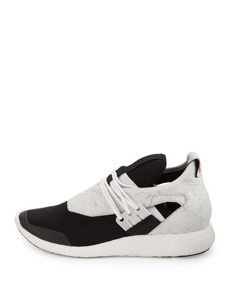 Y-3 Elle Run Sneaker, White/Core Black