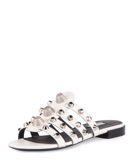 45afecbb2a03 Balenciaga Studded Cage Slide Sandal