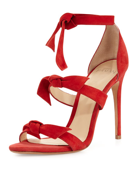 ALEXANDRE BIRMAN Lolita knotted sandals