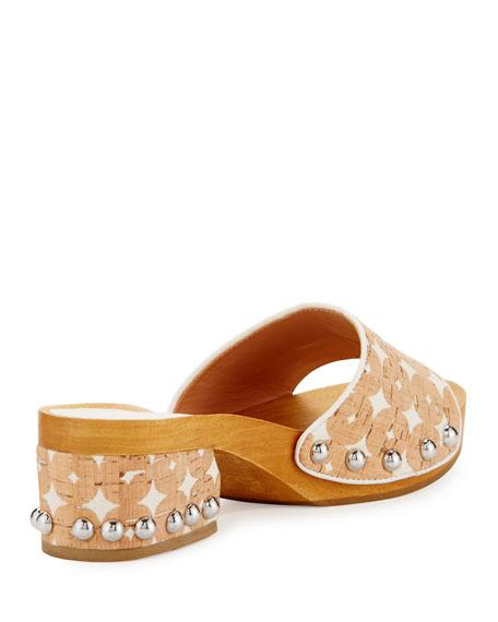 Akira Wooden Slide Clog Sandal