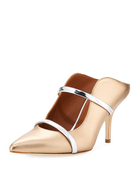 MALONE SOULIERS Double strap mules