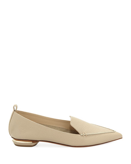 Beya Leather Loafer, Sand