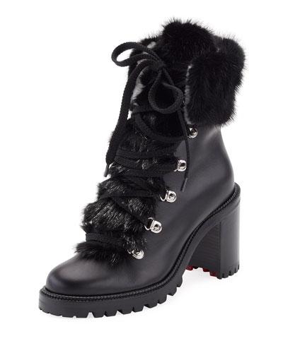 super popular 599b3 9abab new zealand louboutin hiking boots sale e62d5 728e5