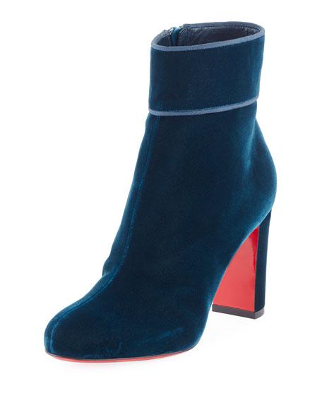 Moulamax Velvet 85mm Red Sole Boot