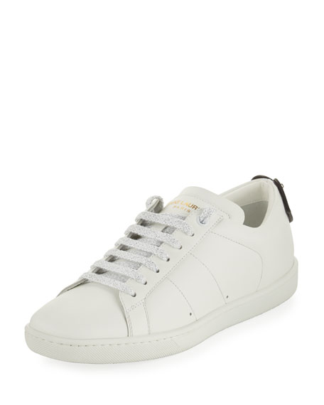Top Saint Sneaker Laurent Leather Lips Low Court Classic YUvY1