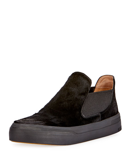 Dries Van Noten Calf Hair Slip-On Sneakers prices sale online cheap discount authentic discount choice sale footlocker pictures discount best store to get Rc8xzxI