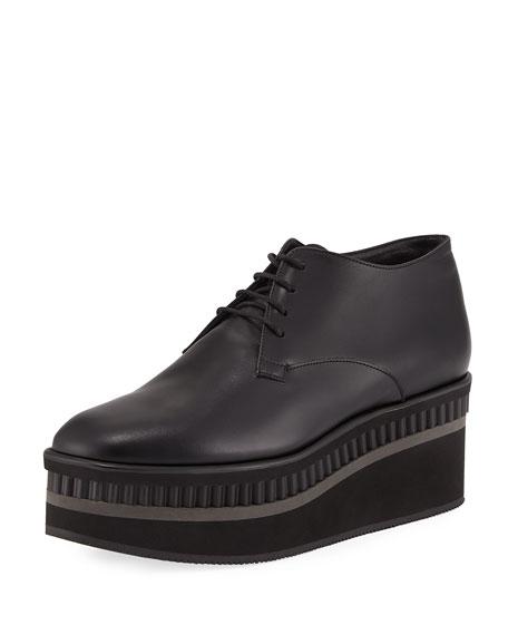 Limmy Platform Leather Oxford