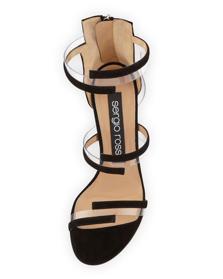 Suede Illusion 105mm Sandal
