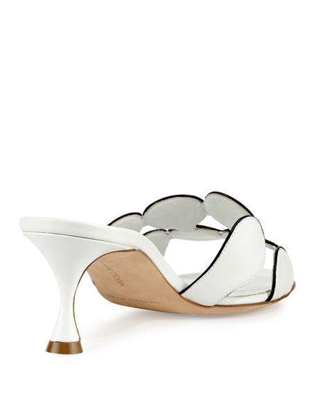 Hairibamu Leather 65mm Mule Sandal