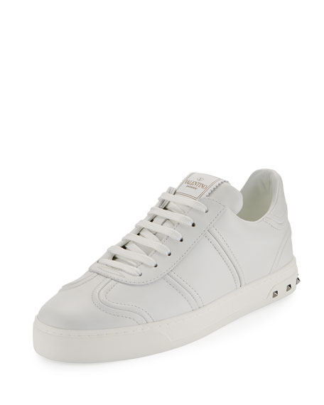 ValentinoFlycrew Leather Sneakers