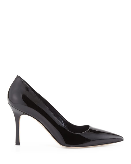 BB 70mm Patent Leather Pump
