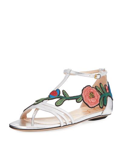 Ophelia Floral Thong Sandal