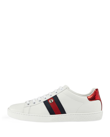 New Ace Number 25 Sneaker, White