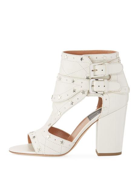 Rush Star-Studded Leather Sandal