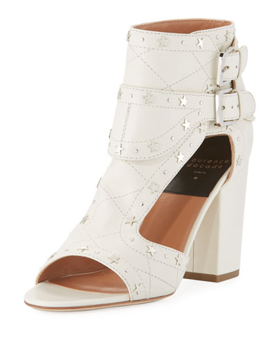 Rush Star-Studded Leather Sandal