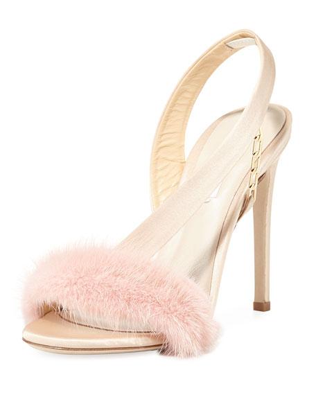 Amazone Mink Fur Sandal