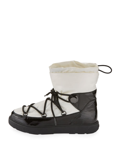 Ynnaf Lace-Up Drawstring Snow Boot